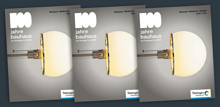 Bauhaus 100 Magazin
