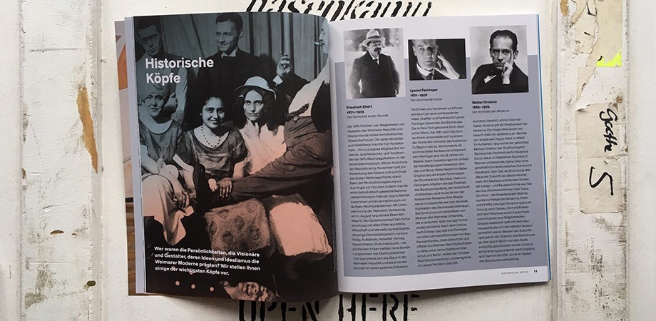 Bauhaus-Magazin Freistaat Thüringen 2019