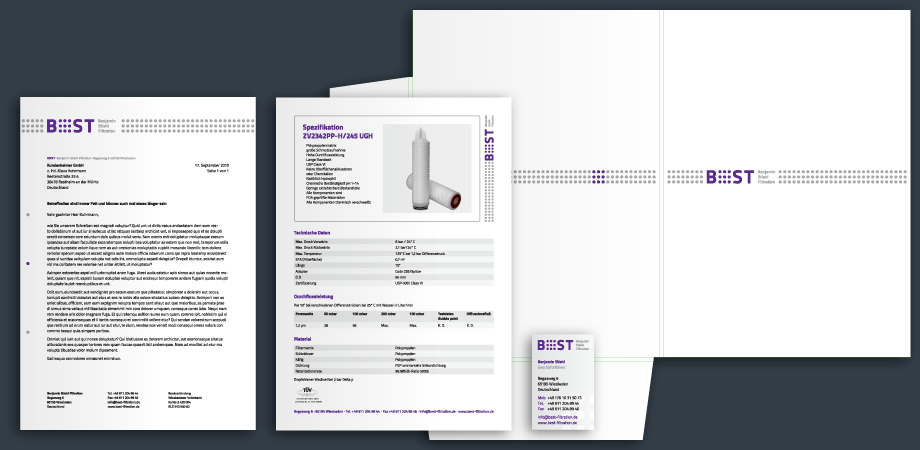 BEST Filtertechnik – Corporate Design