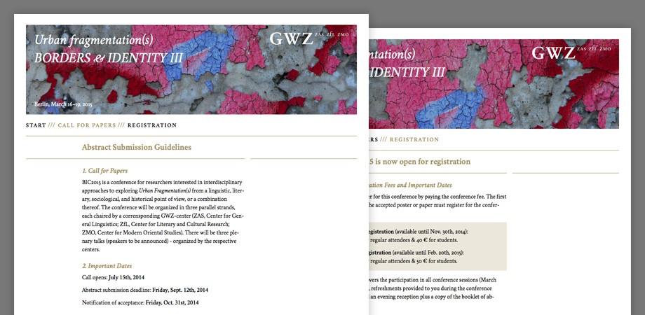 BIC 2015 Website