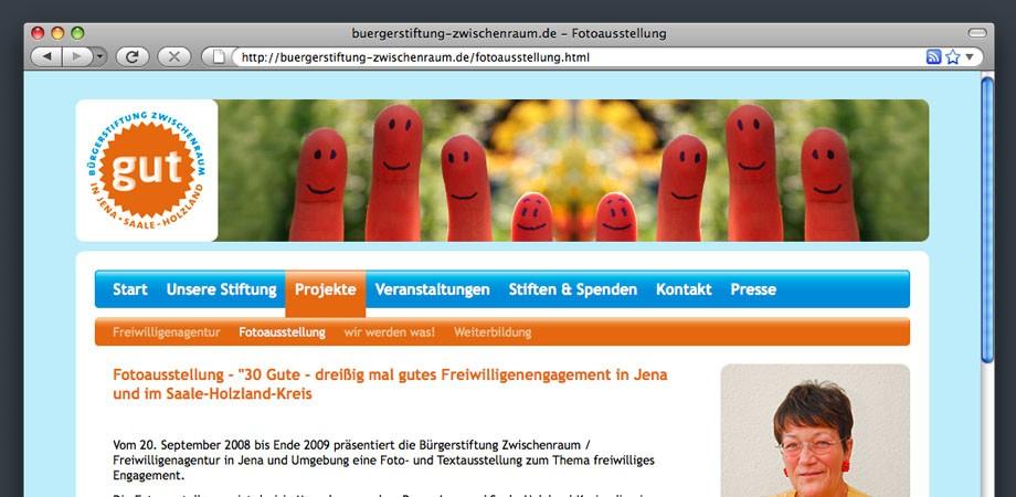 Bürgerstiftung Jena – Web