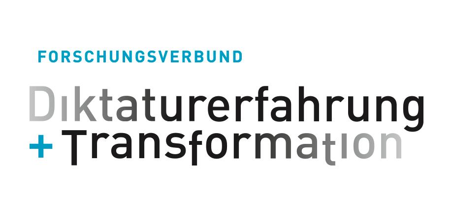 Forschungsverbund Diktaturerfahrung + Transformation · Markendesign 2019 · Goldwiege