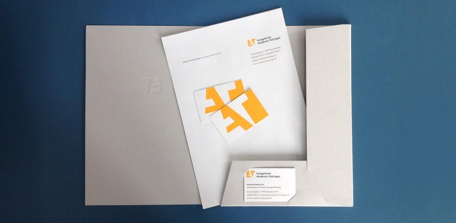 Evangelische Akademie Thüringen 2016 · Corporate Design · Geschäftsausstattung