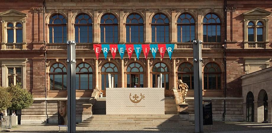 ERNESTINER 2016 Landesausstellung Werbung/Architektur