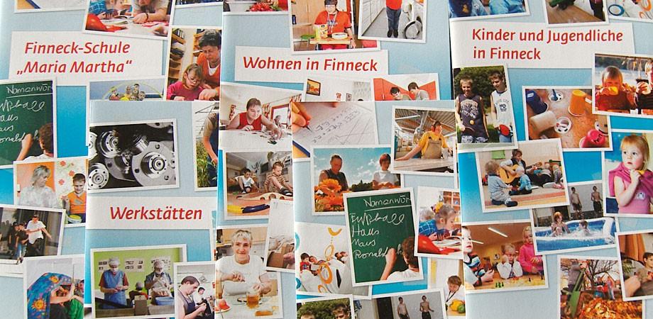Ein Sammelsurium an Finneck-Flyern