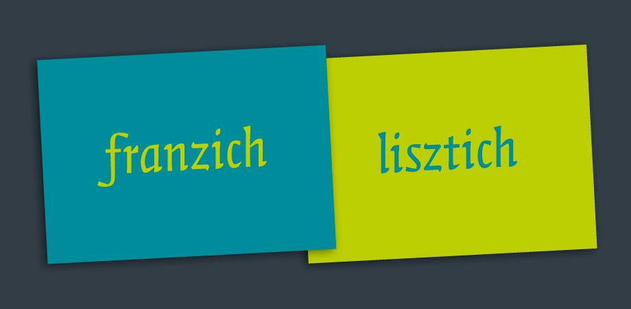 Lisztjahr 2011 – Postkarten