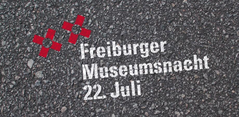 Freiburger Museumsnacht · Erscheinungsbild 2017 von Goldwiege