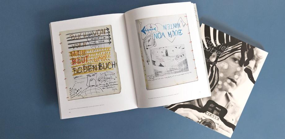 Gabriele Stötzer – Ausstellungswerbung und Katalog
