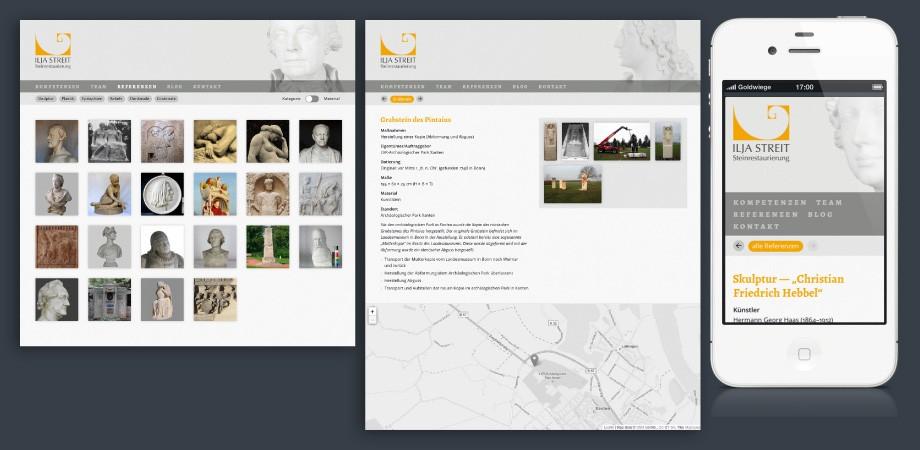 Ilja Streit Steinrestauarator Website