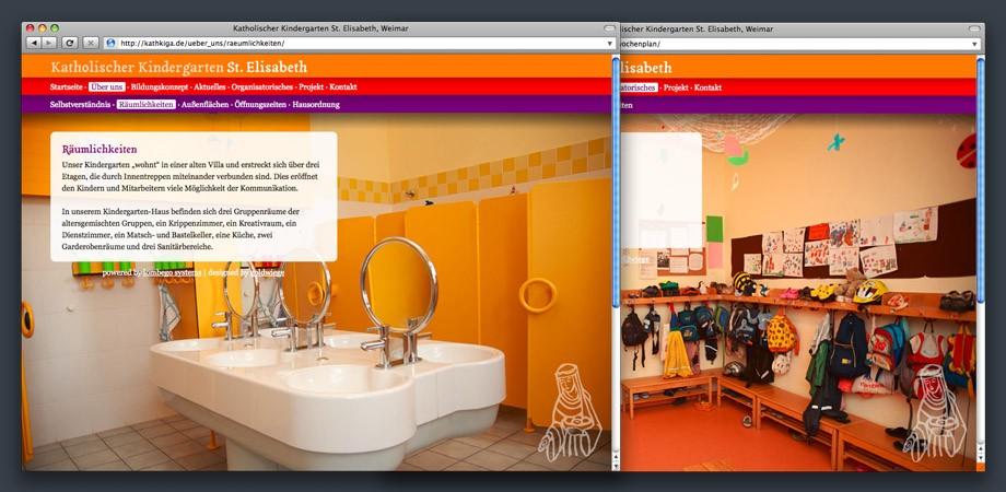 Katholischer Kindergarten Weimar – Website