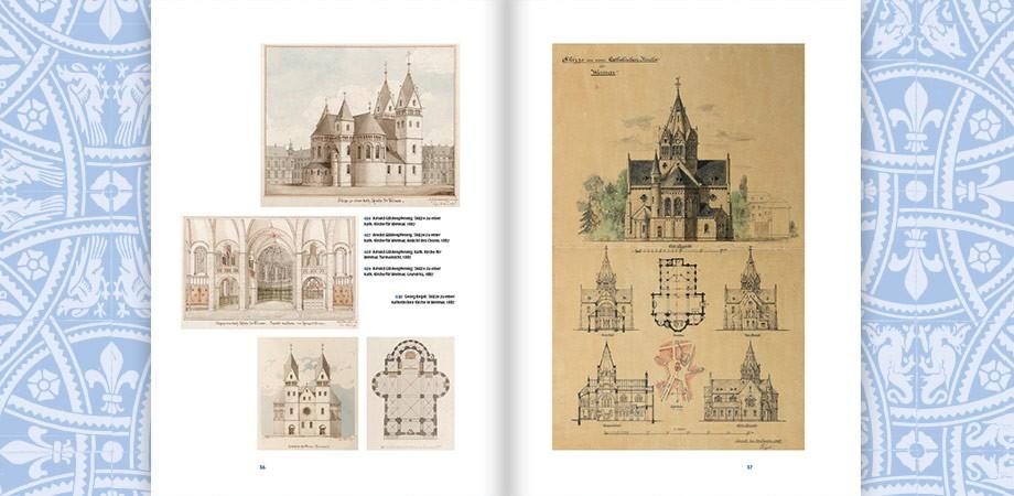 Der hiesigen Stadt zur Zierde - 125 Jahre Herz-Jesu-Kirche Weimar · Buchgestaltung Goldwiege