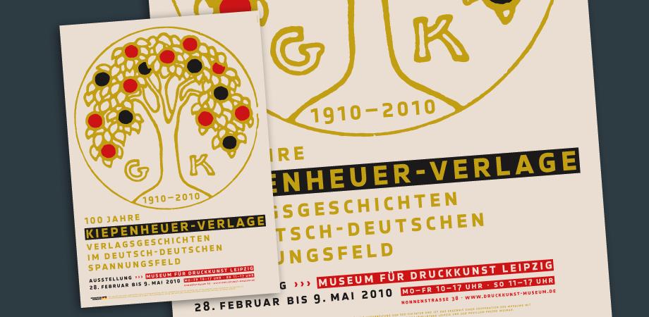 100 Jahre Kiepenheuer – Plakat