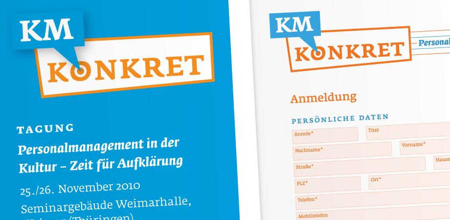 Konferenz KM Konkret – Corporate Design
