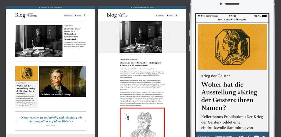 Blog der Klassik Stiftung Weimar