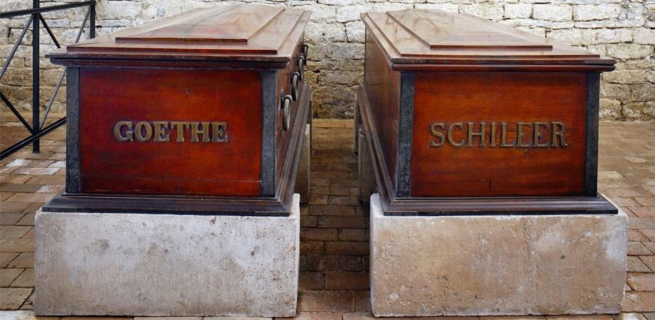 Goethe und Schileer