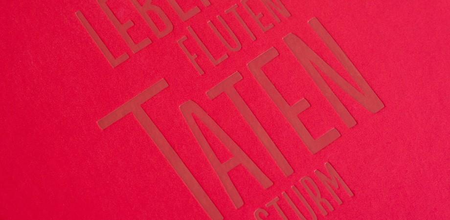 Lebensfluten Tatensturm Buch Goethe-Nationalmuseum 2012