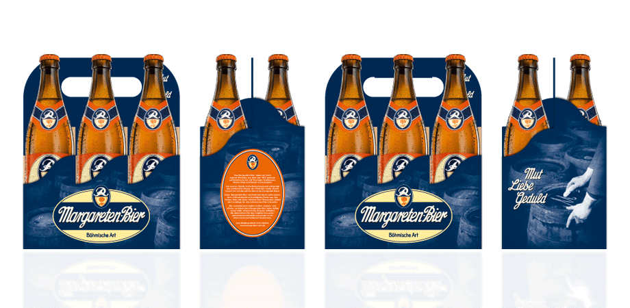 Margareten-Bier Six-Pack