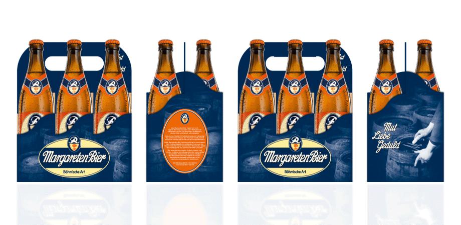 Margareten-Bier Six-Pack