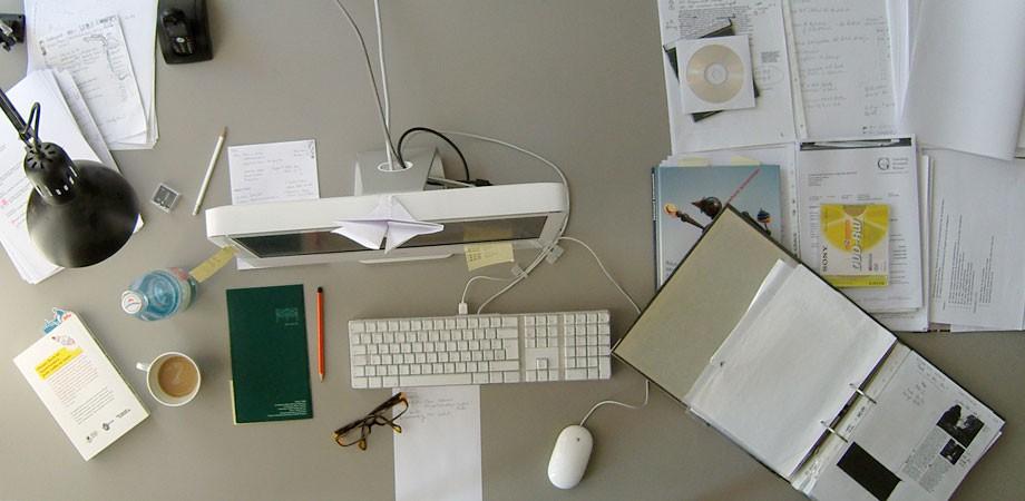 Marias Schreibtisch