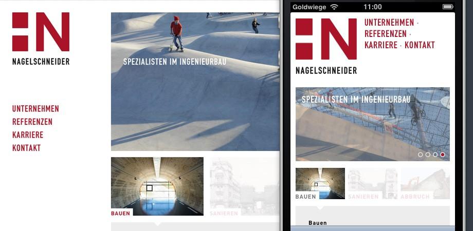 Nagelschneider – Spezialisten im Ingenieurbau – Marken-Relaunch