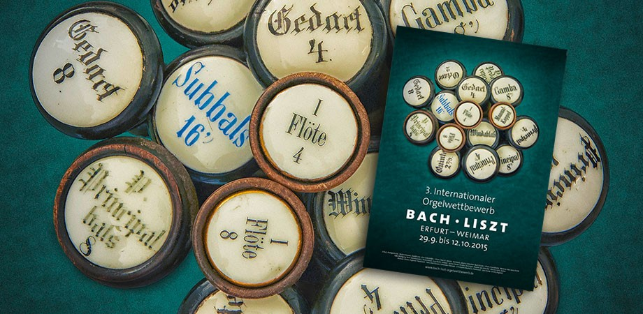 Orgelwettbewerb Bach · Liszt 2015