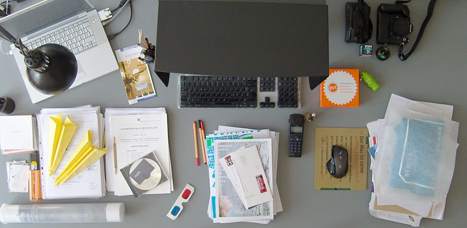 Philipps Schreibtisch