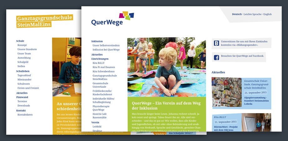 Querwege Website 2015