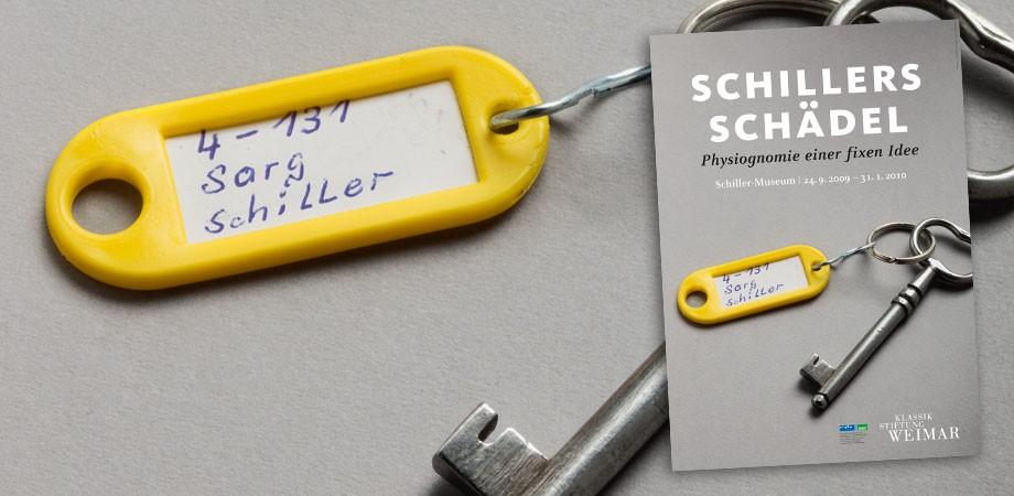 Schillers Schädel – Ausstellungsmotiv