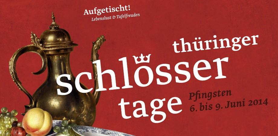 Thüringer Schlössertage Corporate Design