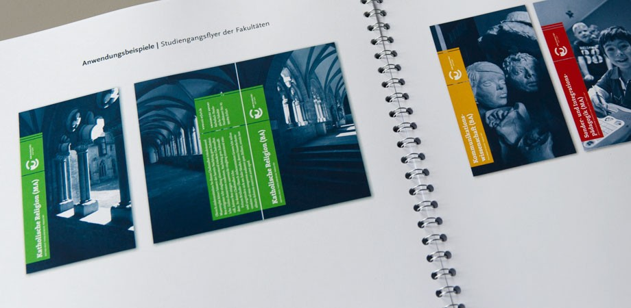 Universität Erfurt – Corporate Design Konzept