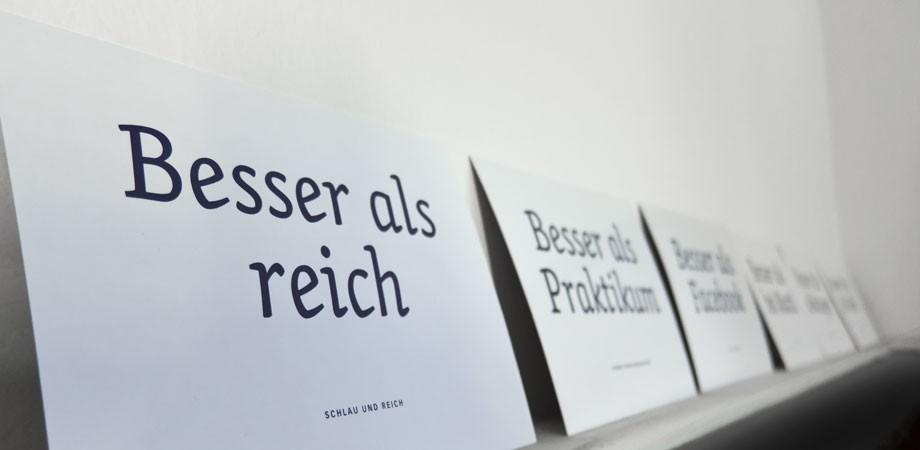 Besser als … Uni-Erfurt Kampagne zum Masterinfotag 2011