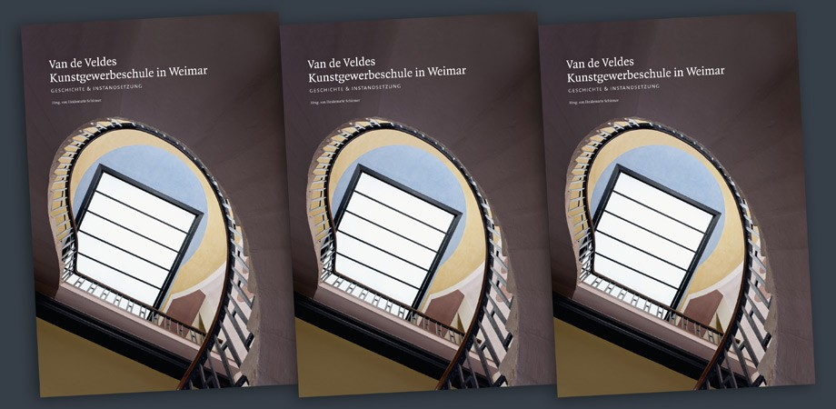 Van de Velde-Bau Weimar – Buch – Titelseite