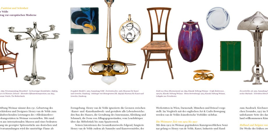 Klassik Stiftung Weimar– Van de Velde Ausstellung 2013