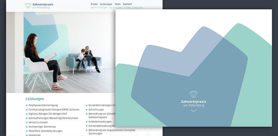 Zahnarztpraxis am Petersberg Erfurt · Corporate Design