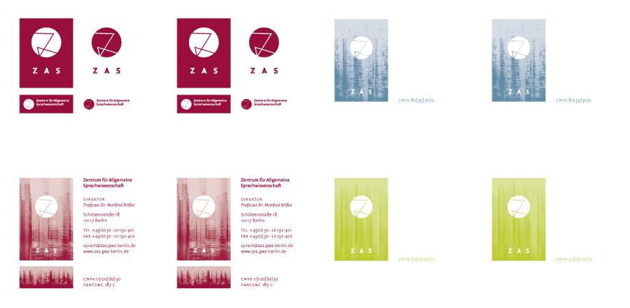 ZAS Zentrum für allgemeine Sprachwissenschaft – Drucksachen