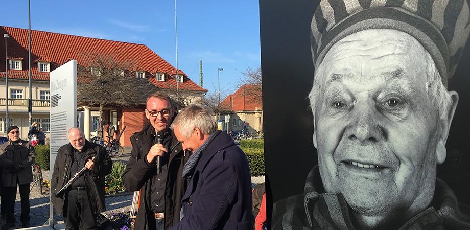 Die Zeugen Eröffnung · Weimar 2019 · Goldwiege