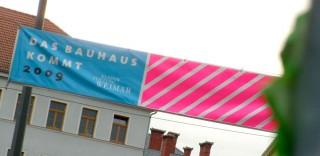 Das Bauhaus kommt aus Weimar